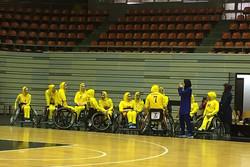 تیم بسکتبال با ویلچر بانوان