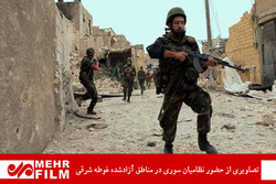 Suriye ordusu Doğu Guta'da ilerleyişini sürdürüyor