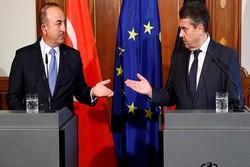 وزیر خارجه ترکیه با همتای آلمانی خود دیدار کرد
