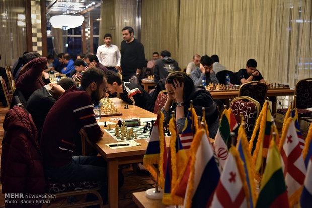 Uluslararası Ferdevsi Satranç Yarışmaları'ndan kareler