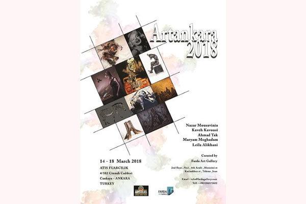 Iranian artists to attend Artankara 2018