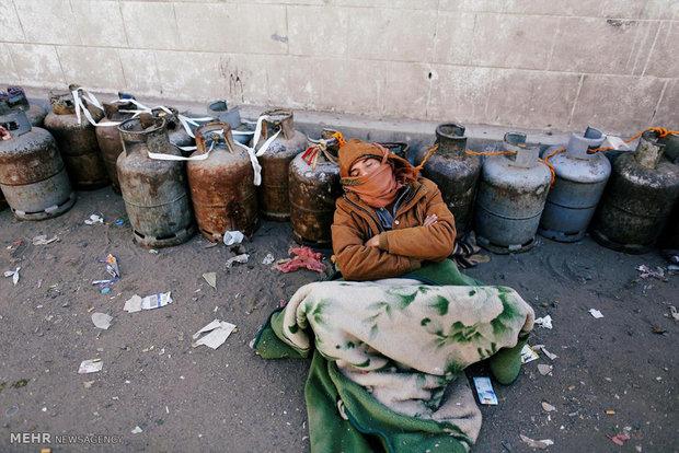 کمبود گاز در صنعا