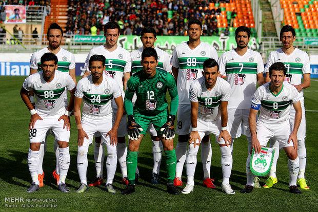 دیدار تیم های فوتبال ذوب آهن و الوحده امارات