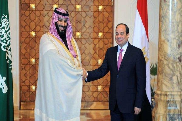 بررسی تحولات منطقه درتماس تلفنی محمد بن سلمان با عبدالفتاح السیسی