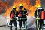 آتشسوزی در حوالی سایت بازیافت کرمانشاه