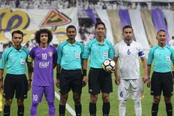 دیدار تیم های فوتبال استقلال و العین