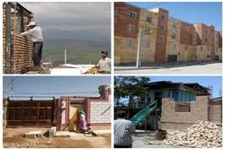 اتمام احداث واحدهای زلزله زده مددجویان تا پایان سال/ تحویل ۳۰۰۰ واحد