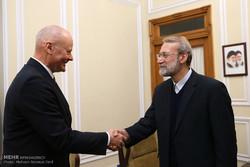 لاريجاني يستقبل السفير الالماني بطهران / صور