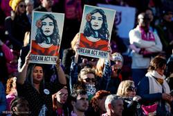 إحتجاجات على سياسات ترامب بشأن الهجرة / صور