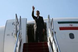 Jahangiri arrives in Baghdad