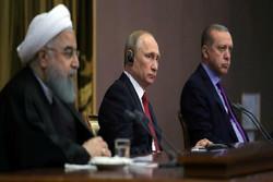 روحاین، پوتین و اردوغان