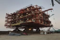 استحصال گاز در پارس جنوبی روزانه ۱۲۵ میلیون متر مکعب افزایش مییابد