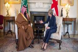 رایزنی «ترزا می» و بن سلمان درباره قتل «خاشقجی» و بحران یمن