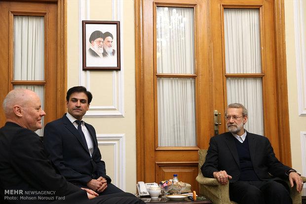 دیدار سفیر آلمان با رئیس مجلس شورای اسلامی
