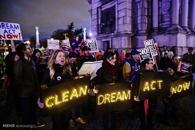 إحتجاجات في المدن الأمريكية ضد سياسات حكومة ترامب