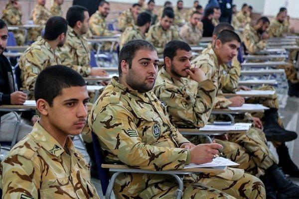 ۱۰۰ هزار سرباز وظیفه در دوره مهارت افزایی شرکت می کنند