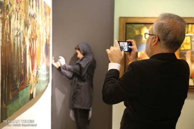 The Louvre stages Tehran exhibition