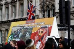 اعتراضات به سفر ولیعهد سهودی به انگلیس