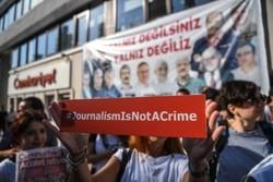 بازداشت روزنامه نگاران در ترکیه