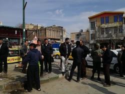 پاکسازی شهرک دولت آباد در کرمانشاه از کشتارهای غیرمجاز  دام