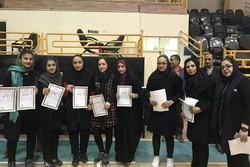 نخستین دوره مسابقه داژبال ویژه بانوان در گرگان برگزار شد