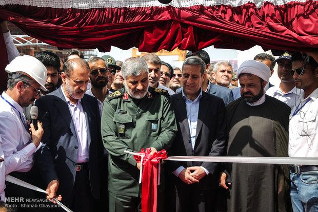 نصب سکوی تمام ایرانی فاز ۲۲ پارس جنوبی