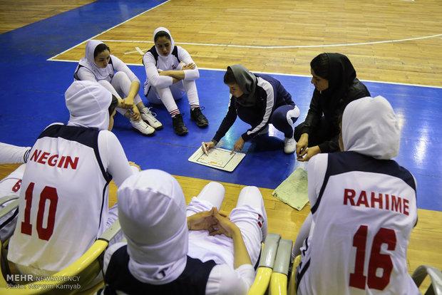 İran Kadınlar Basketbol Süper Ligi'nden kareler