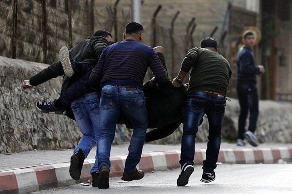 مصدومیت ده ها فلسطینی در حمله نظامیان صهیونیست,
