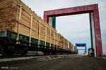 ورود و تخلیه بار قطار های خارجی در بارانداز ریلی آستارا