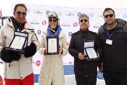 پایان مسابقات جایزه بزرگ آلپاین خیریه در پیست دیزین