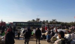 Hundreds of displaced families return home in Deir Ezzor