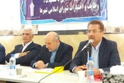 حسینی شاهرودی . گردهمایی شورای اسلامی استان سمنان  - کراپشده
