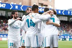 پیروزی شیرین رئال مادرید مقابل ایبار/ درخشش تمام نشدنی رونالدو