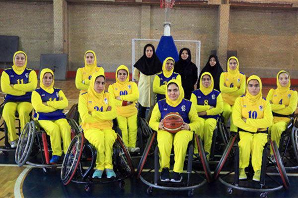 منتخب إيران النسائي لكرة السلة على الكراسي المتحركة يتوج بطلا لآسيا