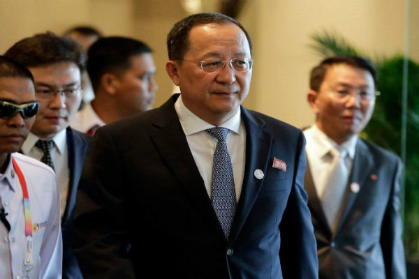North Korean FM slated for official visit to Iran: Kyodo