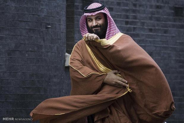 سفر ولیعهد عربستان به لندن