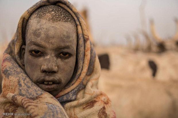 کوچ سالانه گله داران سودان جنوبی