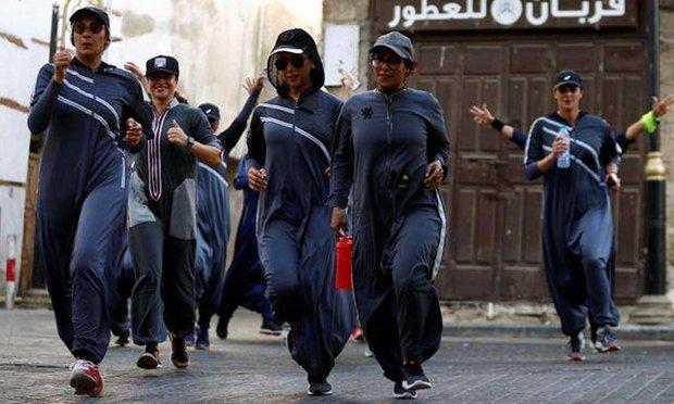 سعودی عرب میں عورتوں کو پبلک مقامات پر جاگنگ کی اجازت
