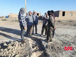 تلاش جهادگران عرصه عشق در نقاط زلزلهزده استان کرمانشاه