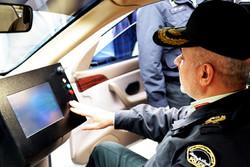 خودرو پلاک خوان پلیس آگاهی قم رونمایی شد/ انهدام ۵ باند سرقت