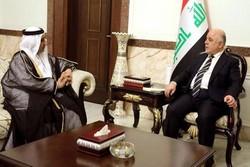 دیدار سفیر امارات در بغداد با حیدر العبادی