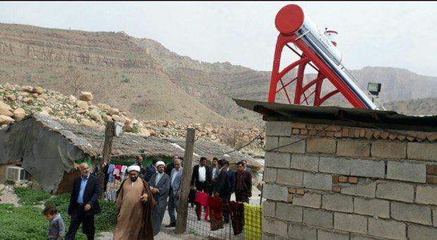 ۲۹۴ آبگرمکن خورشیدی در ۱۲ روستای زنجان نصب شده است