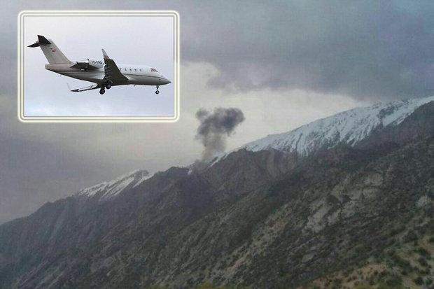 سقوط هواپیمای ترکیه ای - کراپشده