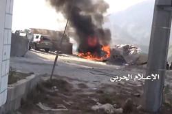 المدفعية اليمنية تدك مواقع وتجمعات لجيش العدوان بجيزان