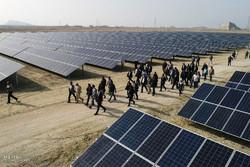 نیروگاه خورشیدی دامغان افتتاح شد/ سرمایهگذاری ۴۰ میلیارد ریالی
