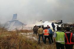 سقوط هواپیمای بنگلادش