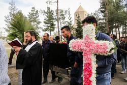 مراسم تشییع و خاکسپاری لوون هفتوان بازیگر ارمنی سینمای ایران
