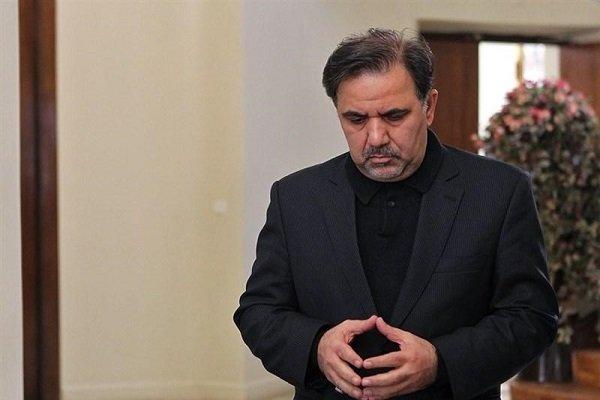 وزيرالطرق وبناء المدن الايراني  ينشر طلب استقالته رسمياً