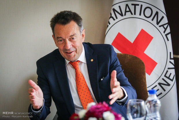 We have intensified our relations with Iran: ICRC president