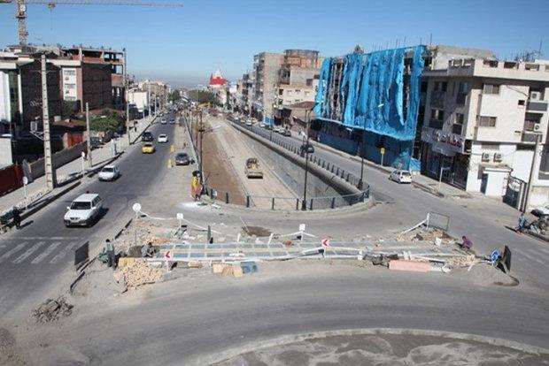 تقاطع غیرهمسطح خیابان شریعتی اراک تا پایان سال بهرهبرداری میشود
